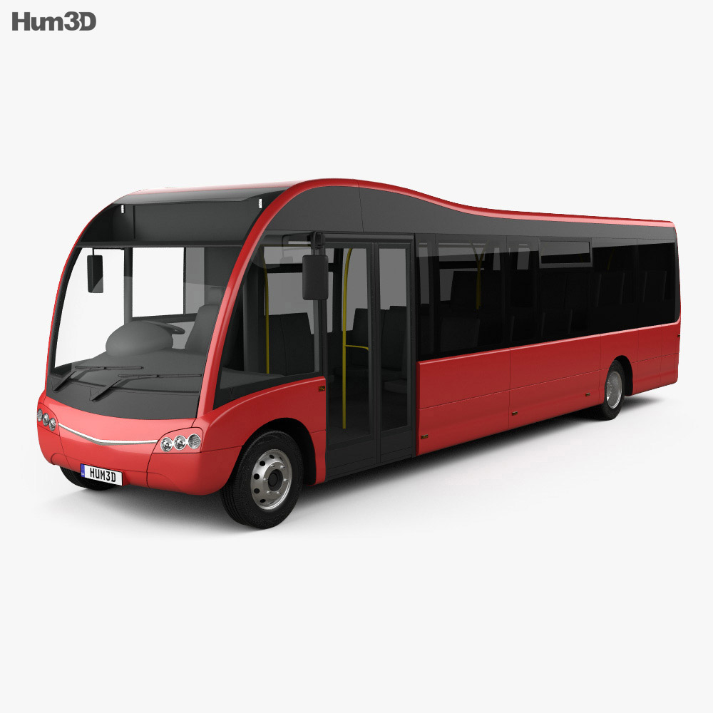 Optare Solo Bus 2007 3d model