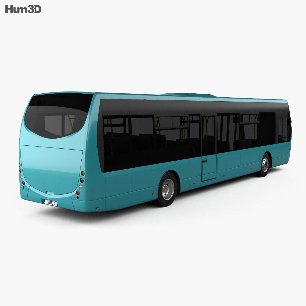 Optare Tempo Bus 2011 3d model