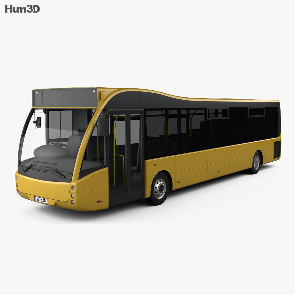 Optare Versa Bus 2011 3d model