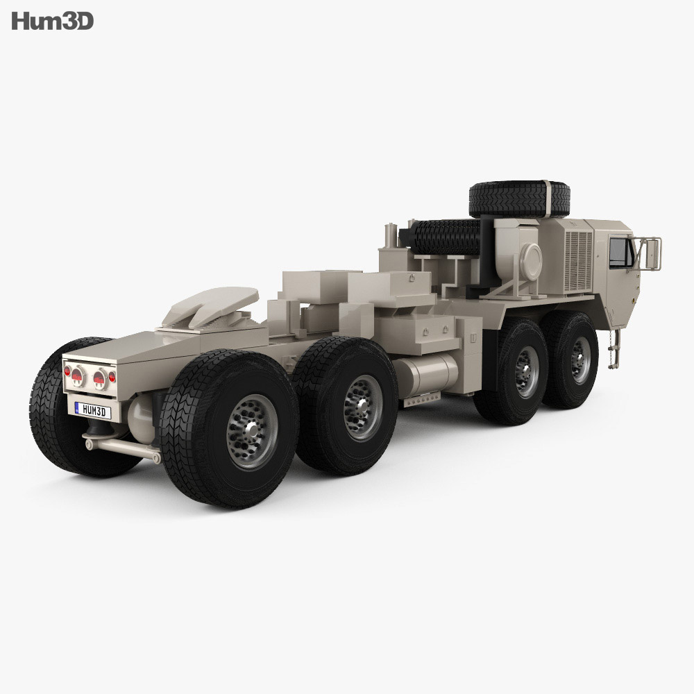 Oshkosh HEMTT M983A4 Patriot Tractor Truck 2011 3d model