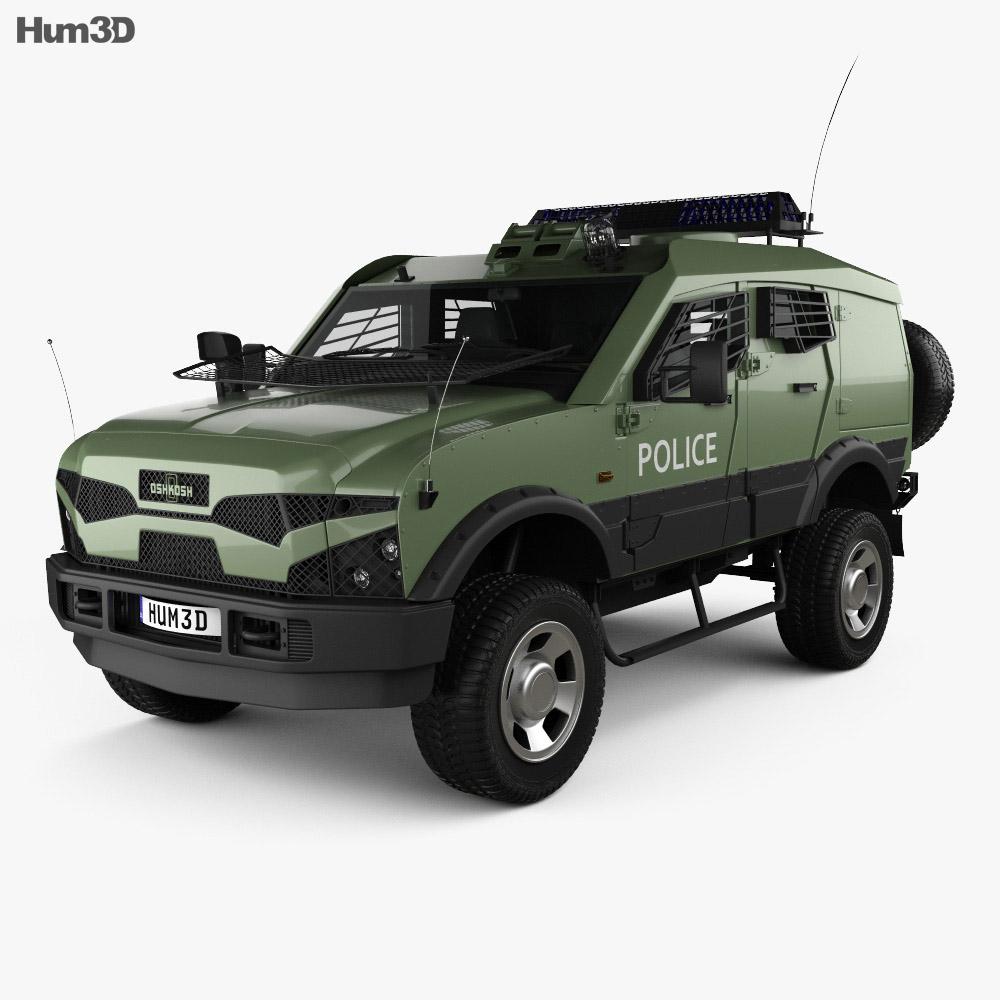 Oshkosh Sand Cat Transport 2012 3d model