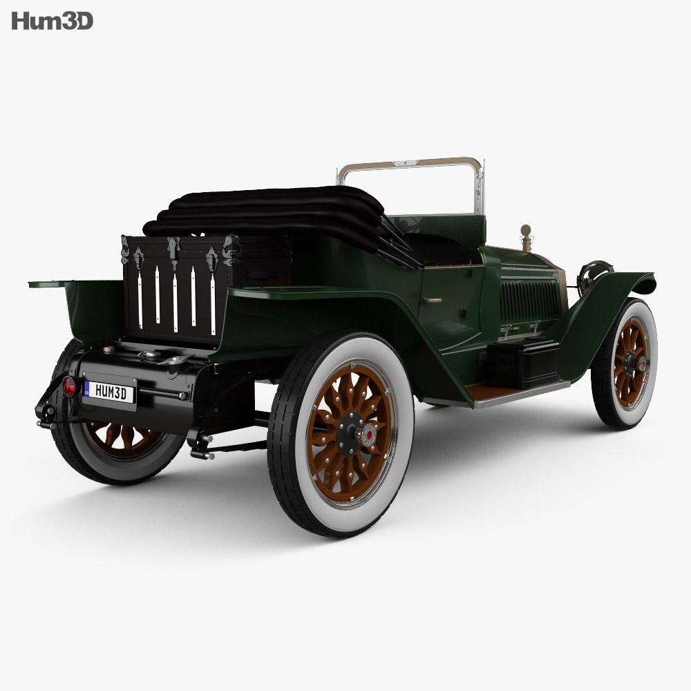Packard Indy 500 Pace Car 1915 3d model