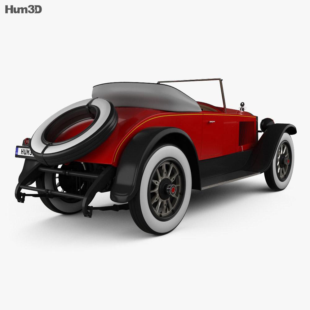 Packard Twin Six 1919 3d model