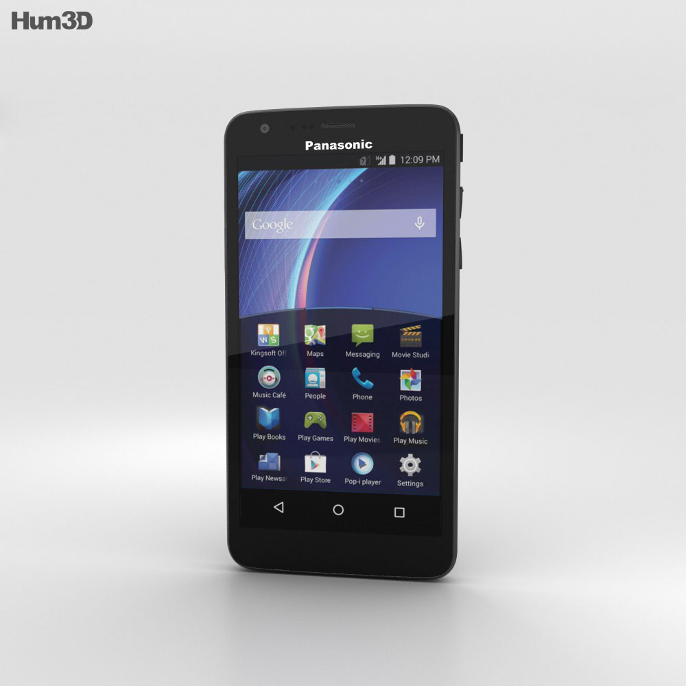 Panasonic Eluga U2 Black 3d model