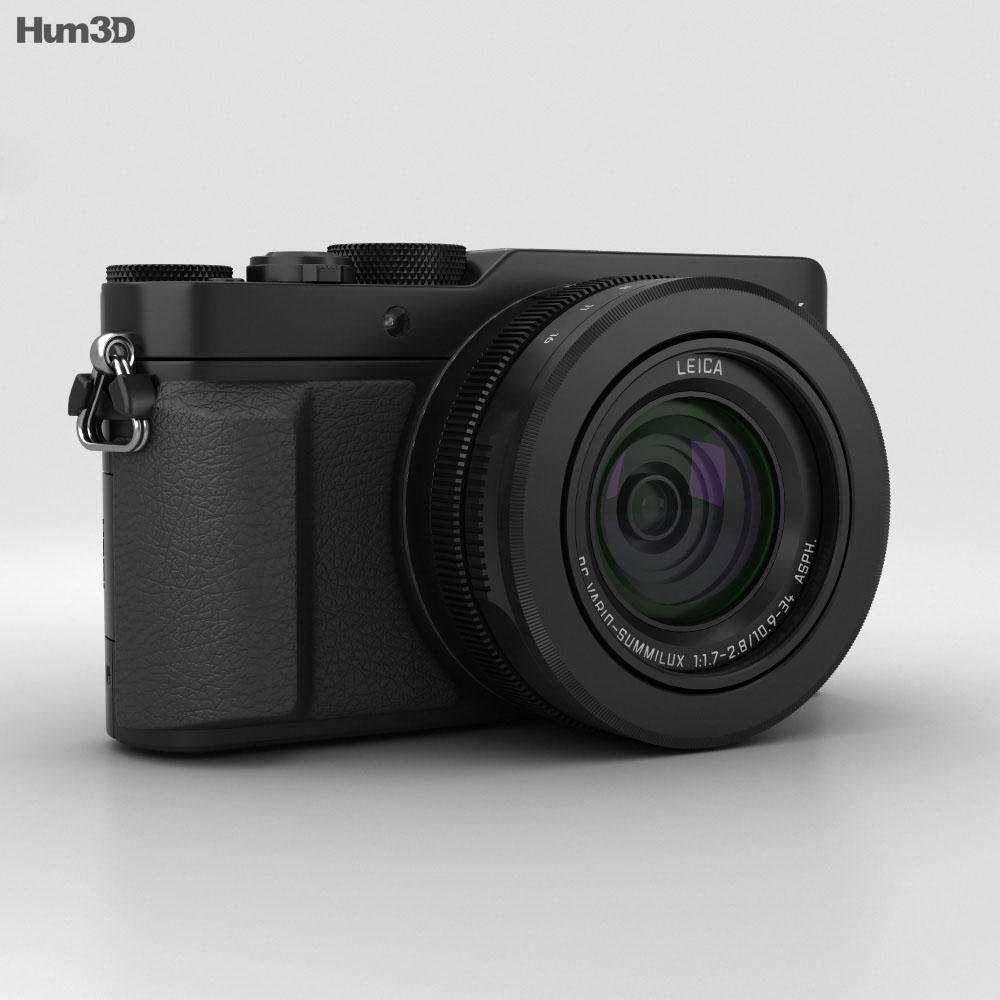 Panasonic Lumix DMC-LX100 Black 3d model