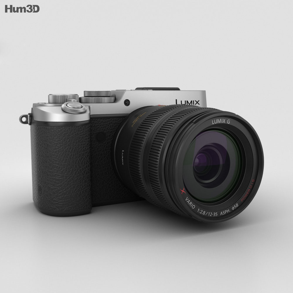 Panasonic Lumix DMC-GX8 Silver 3d model