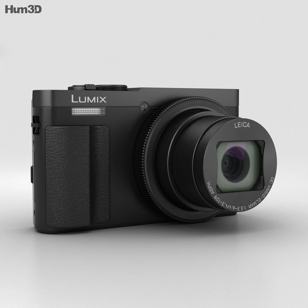 Panasonic Lumix DMC-TZ70 Black 3d model