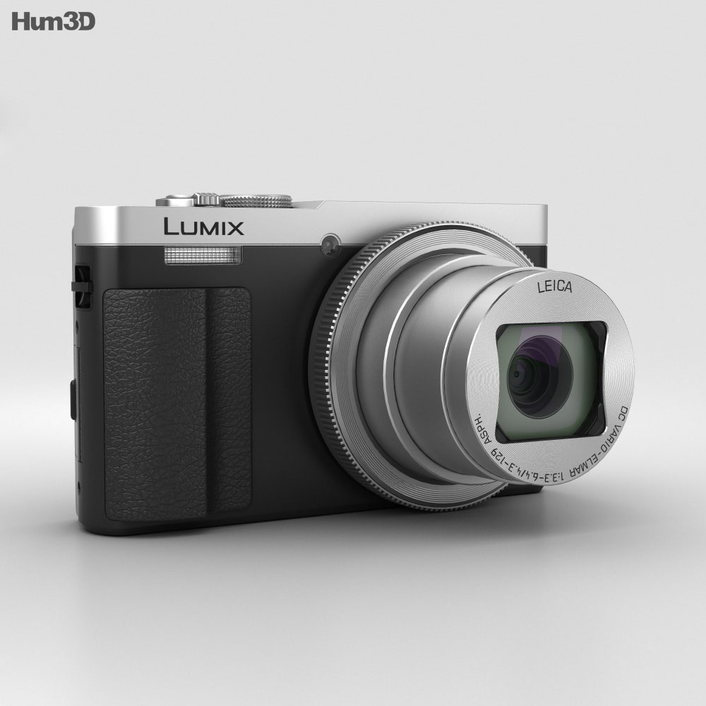 Panasonic Lumix DMC-TZ70 Silver 3d model