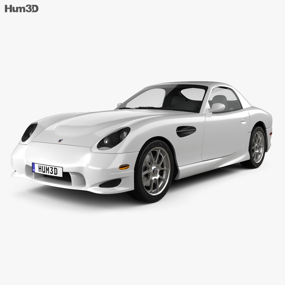 3D model of Panoz Esperante GT 2012