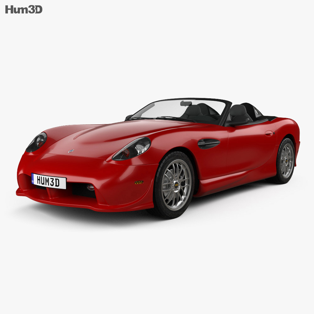 3D model of Panoz Esperante Spyder 2015