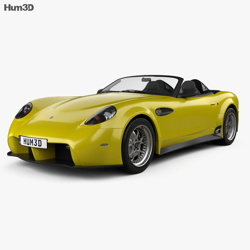 3D model of Panoz Esperante Spyder GT 2015