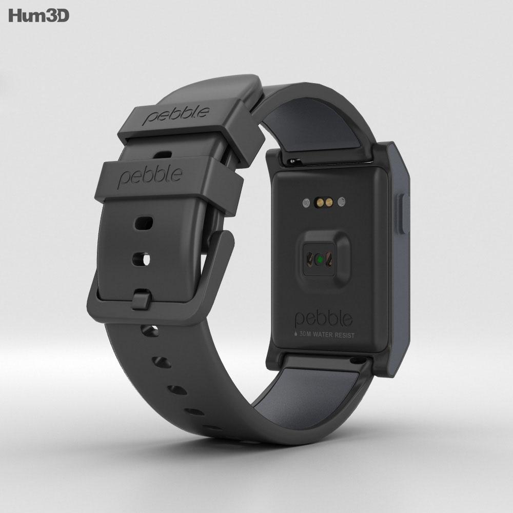 Pebble 2 Black 3d model