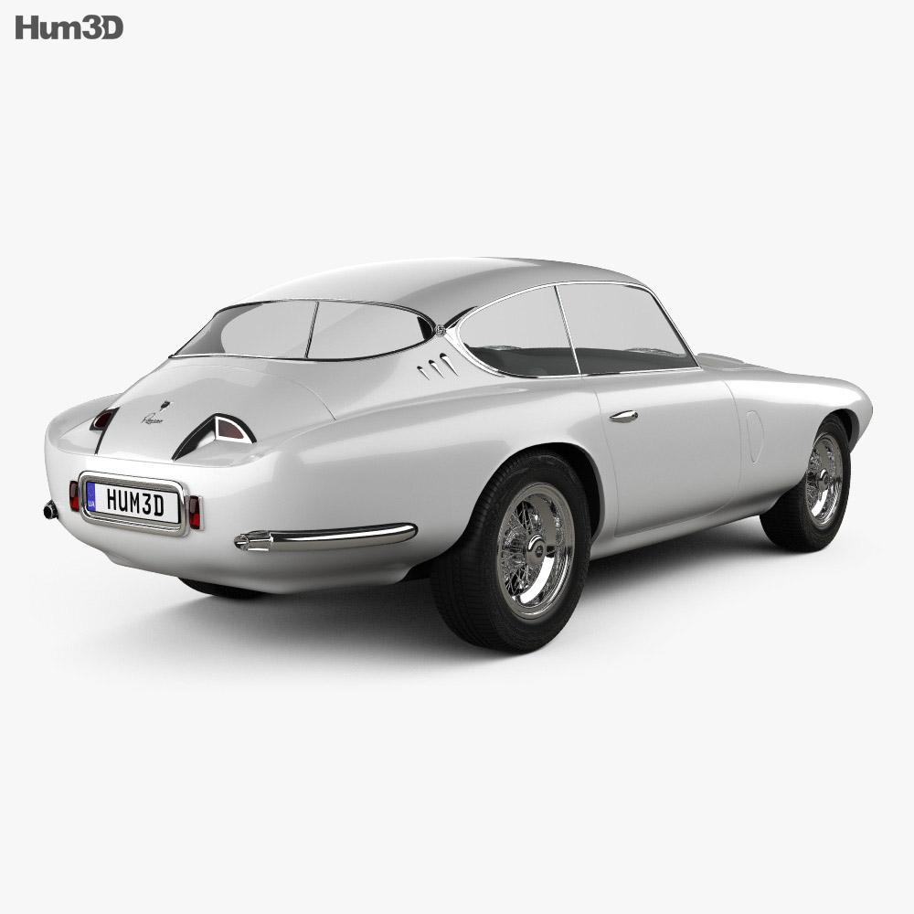 Pegaso Z-102 1954 3d model
