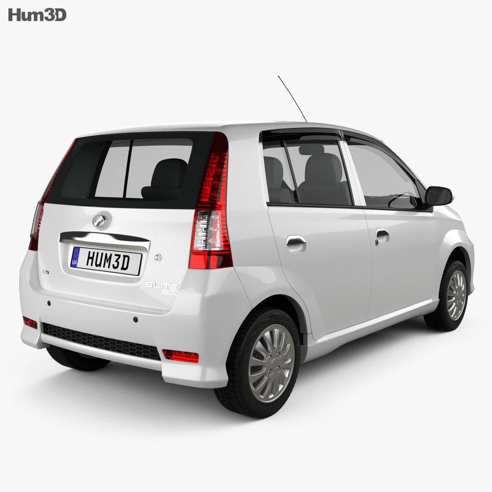 Perodua Viva 2009 3d model