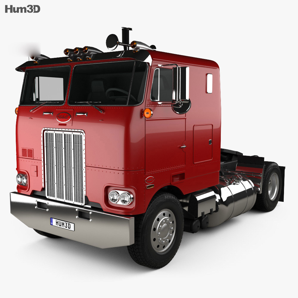 Peterbilt 262 Tractor Truck 1978 3d model