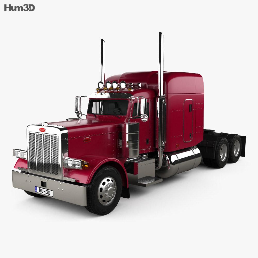 Peterbilt 379 Tractor Truck 1987 3d model