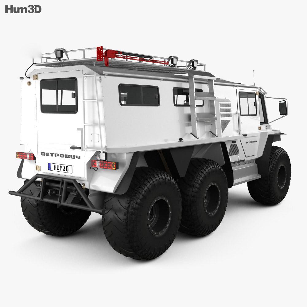 Petrovich 354-71 2019 3d model