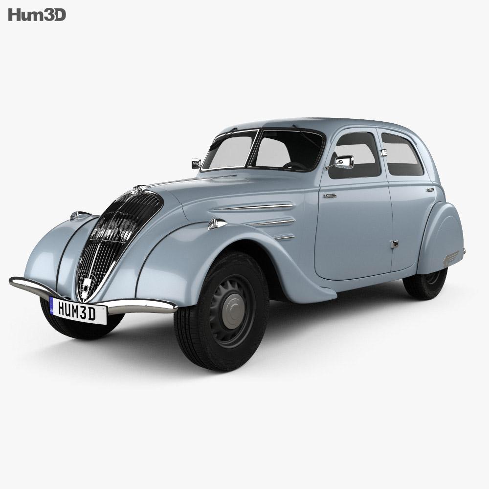 Peugeot 302 1936 3d model