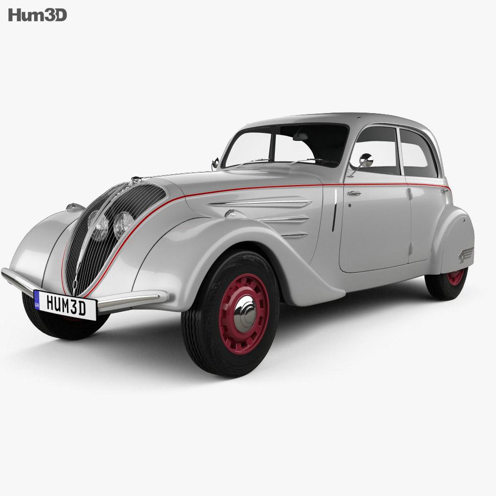 Peugeot 402 Legere 1935 3d model