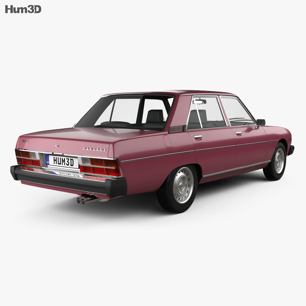 Peugeot 604 1975 3d model