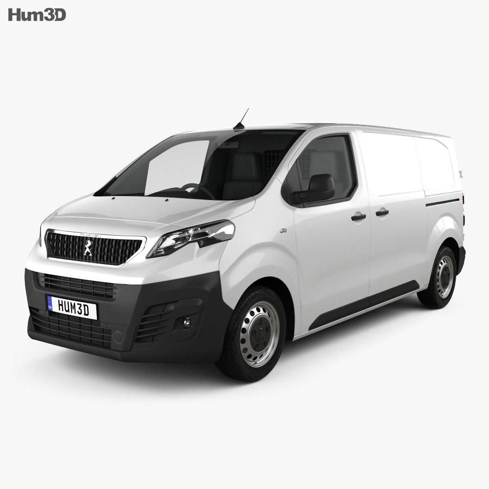Peugeot Expert Panel Van L2 2019 3d model