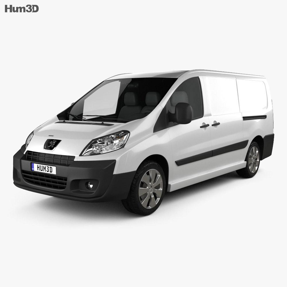 Peugeot Expert II Panel Van L2H1 2011 3d model
