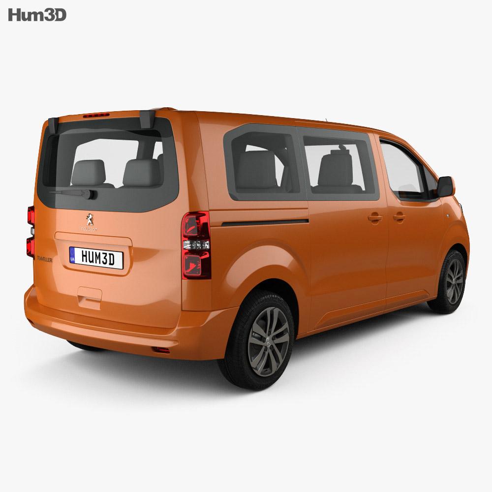 Peugeot Traveller Allure 2016 3d model