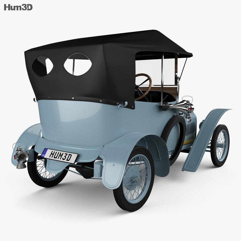 Peugeot Type BP1 Bebe 1913 3d model