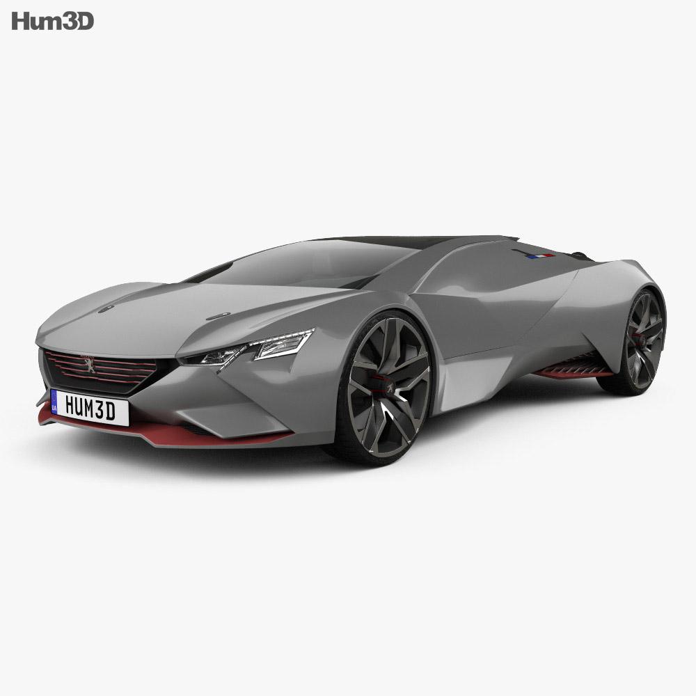Peugeot Vision Gran Turismo 2015 3d model