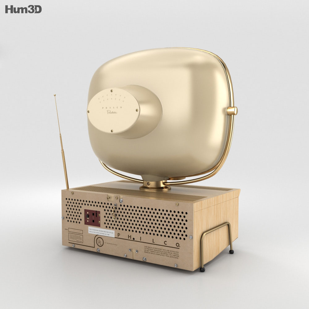 Philco Predicta 3d model