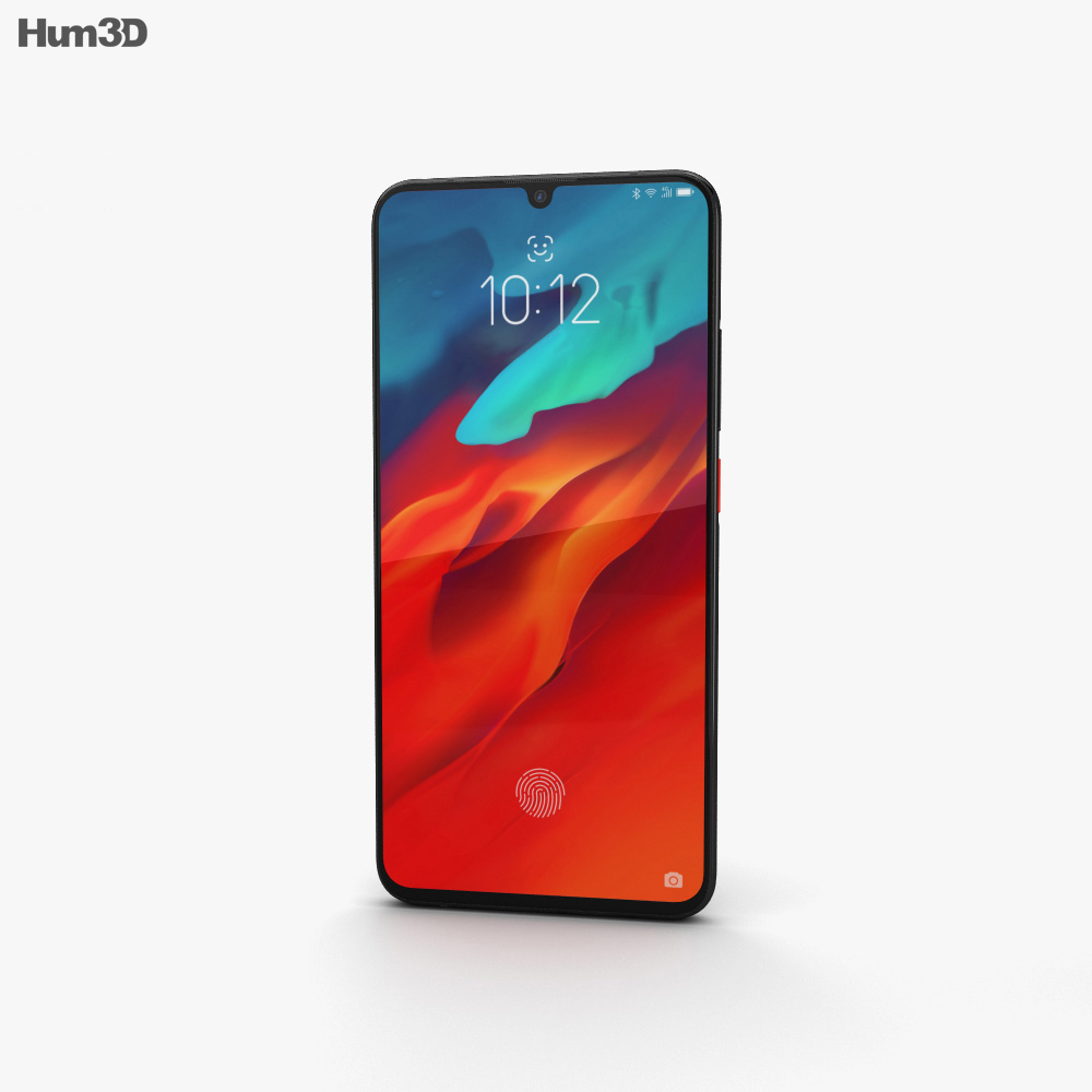 Lenovo Z6 Pro Red 3d model
