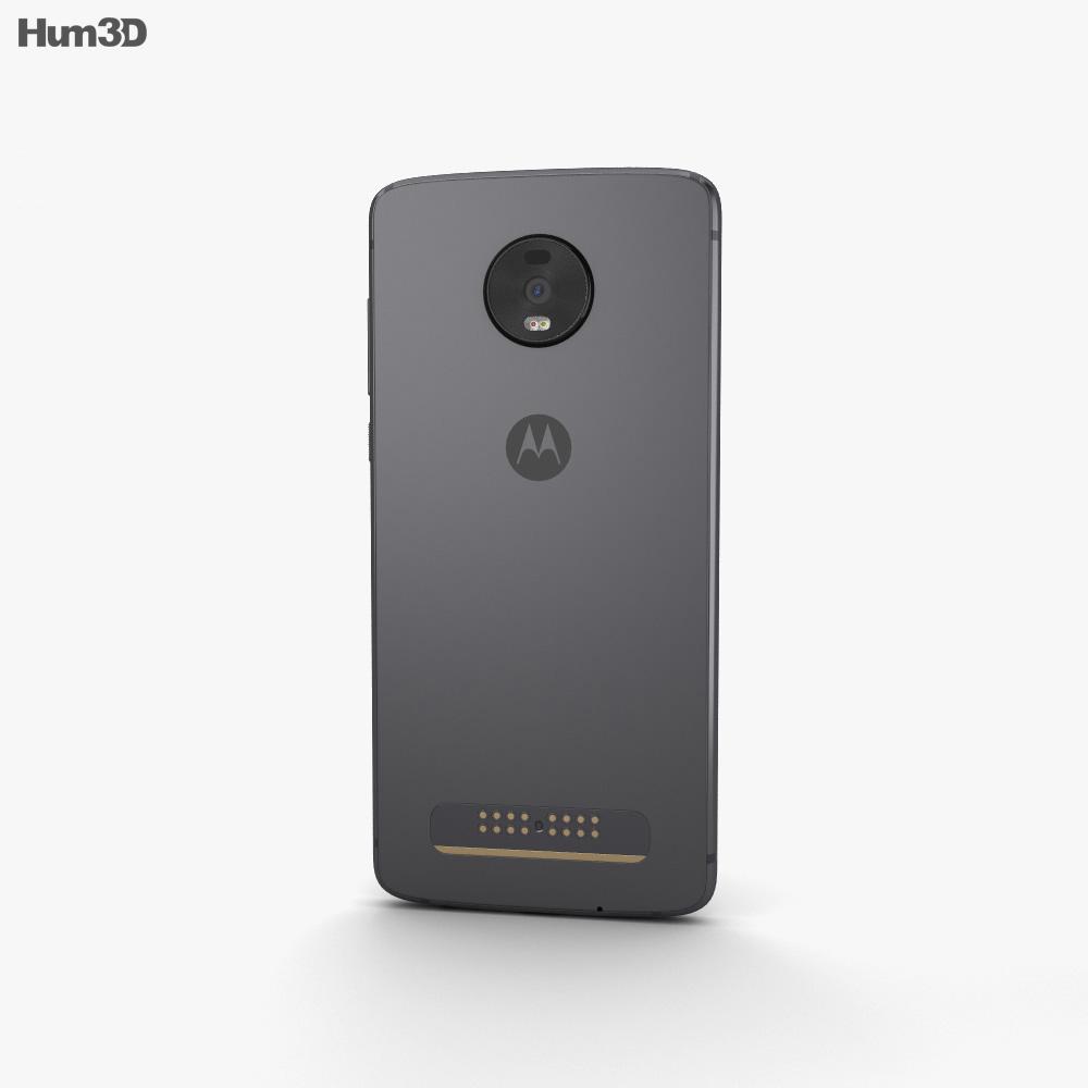 Motorola Moto Z4 Flash Grey 3d model