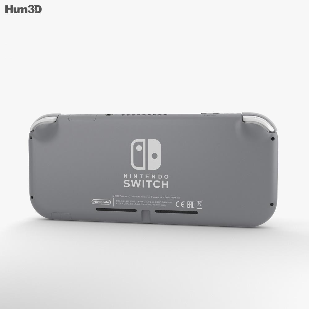 Nintendo Switch Lite Gray 3d model
