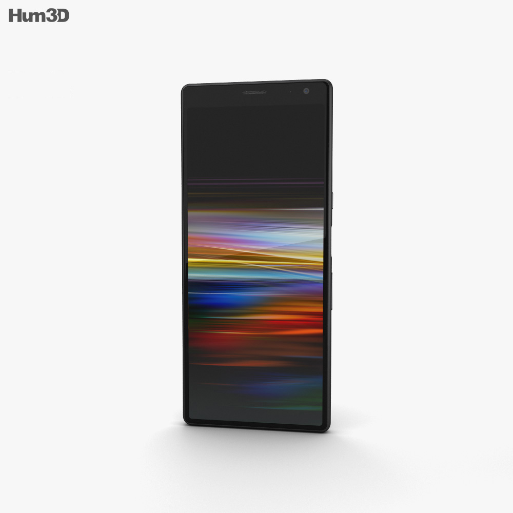 Sony Xperia 10 Plus Black 3d model