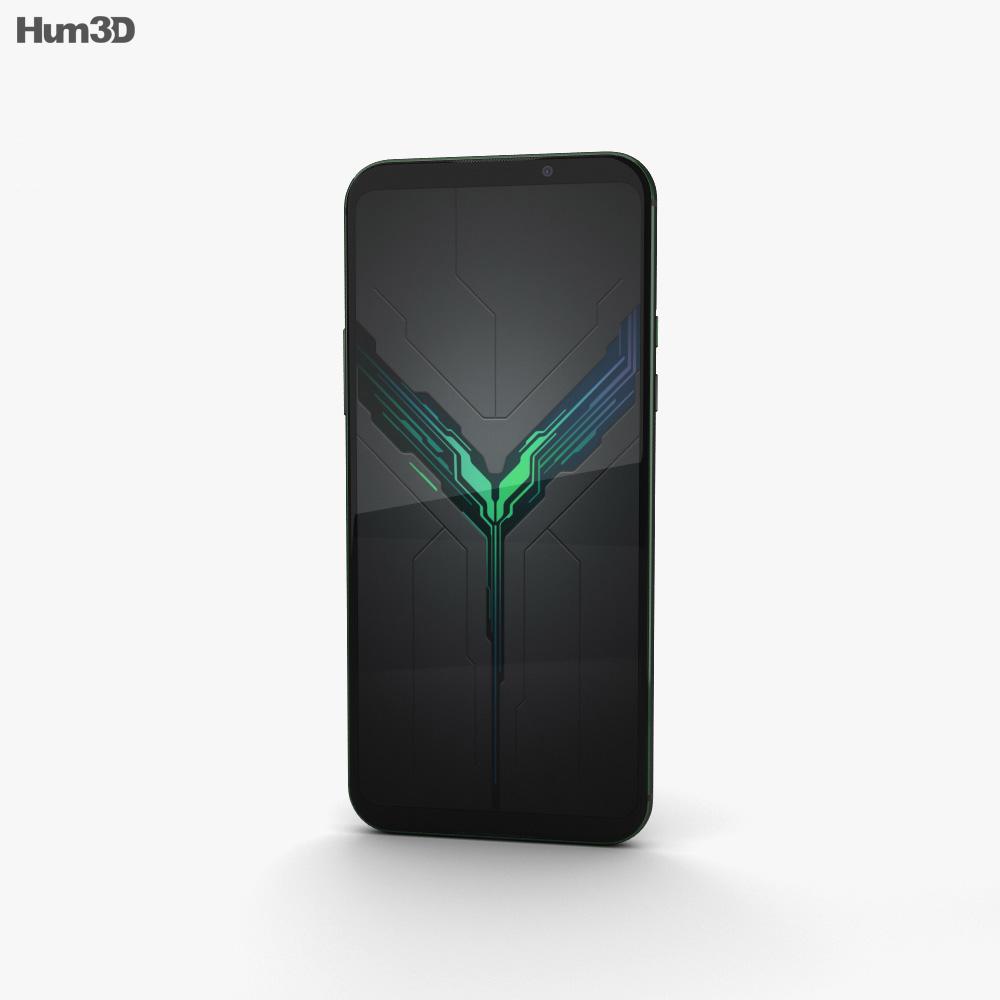 Xiaomi Black Shark 2 Black 3d model