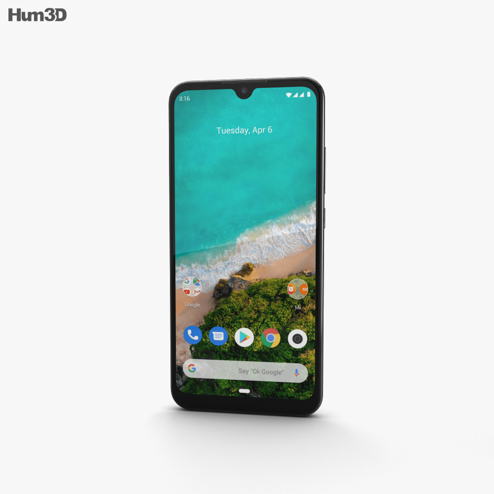 Xiaomi Mi A3 More than White 3d model