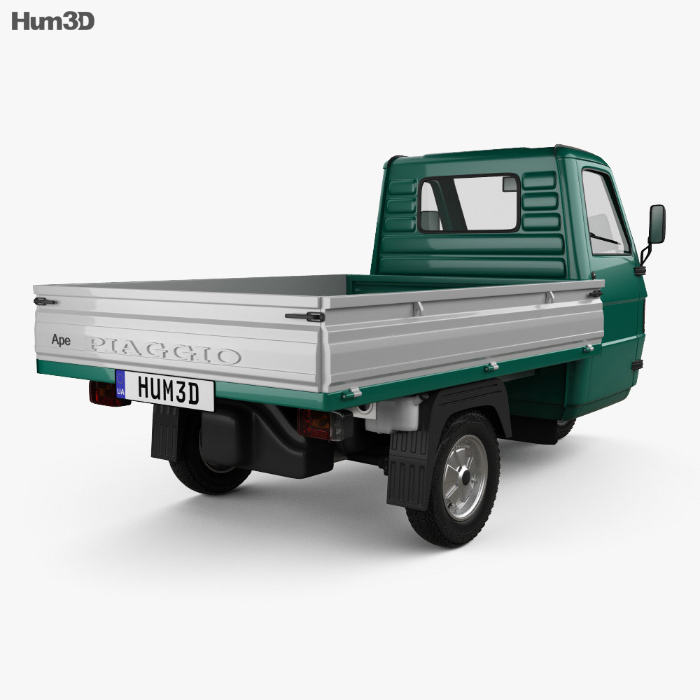 Piaggio Ape TM Pickup 1982 3d model