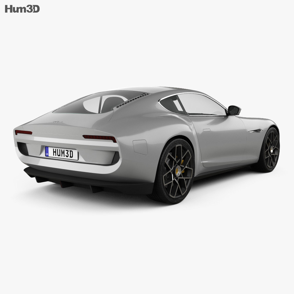 Piech Mark Zero 2019 3d model