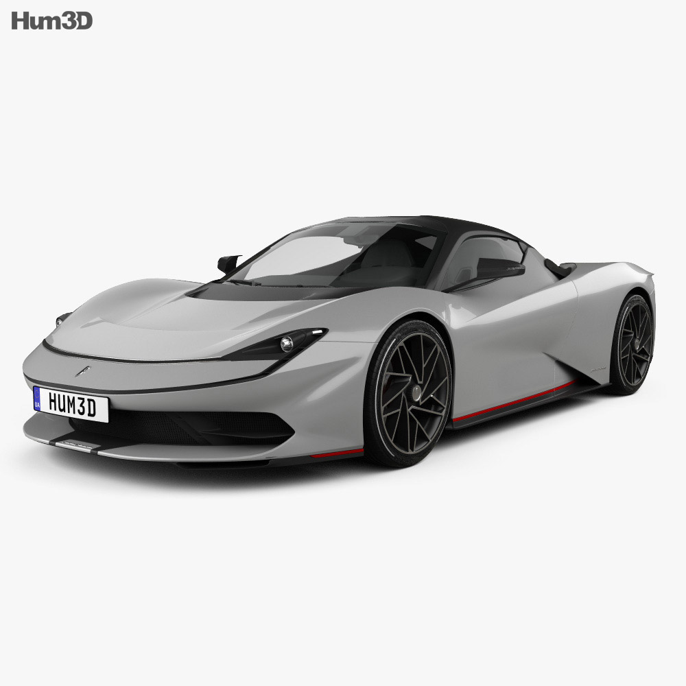 Pininfarina Battista 2020 3d model