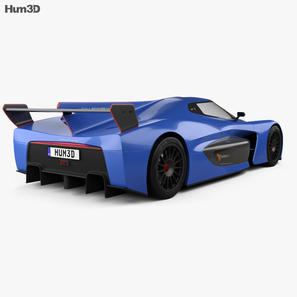 Pininfarina H2 Speed 2019 3d model