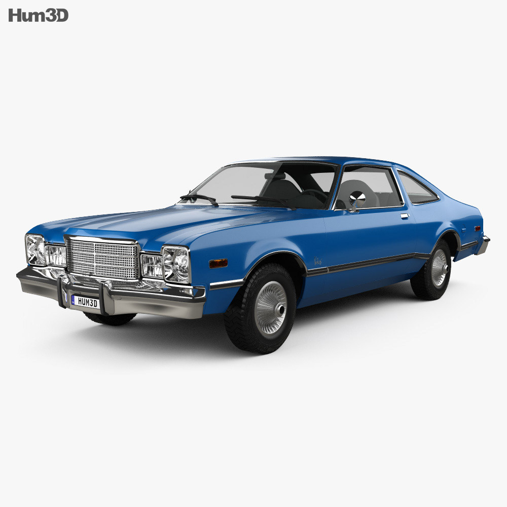 Plymouth Volare coupe 1977 3d model