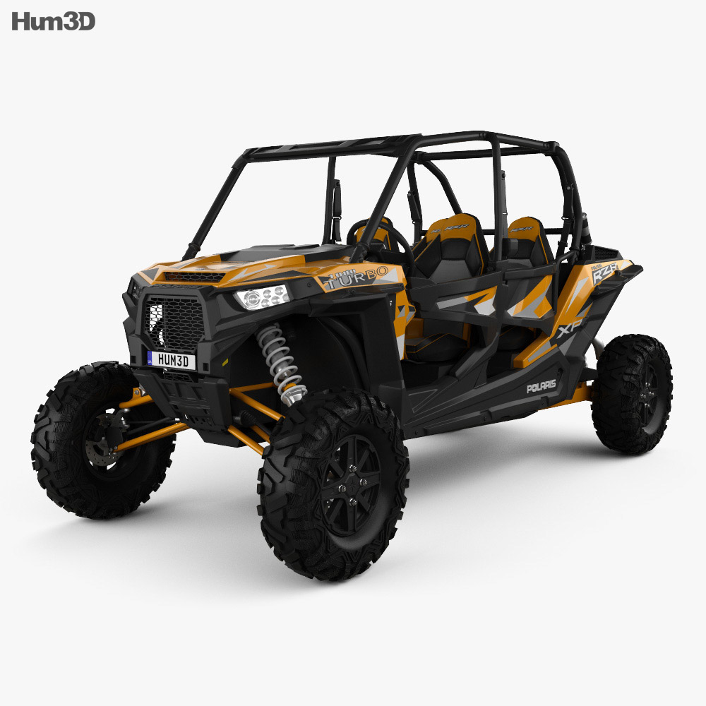 Polaris RZR XP 4 TURBO EPS 2016 3d model