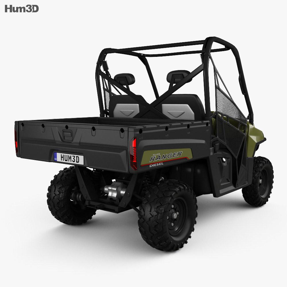 Polaris Ranger Diesel 2014 3d model