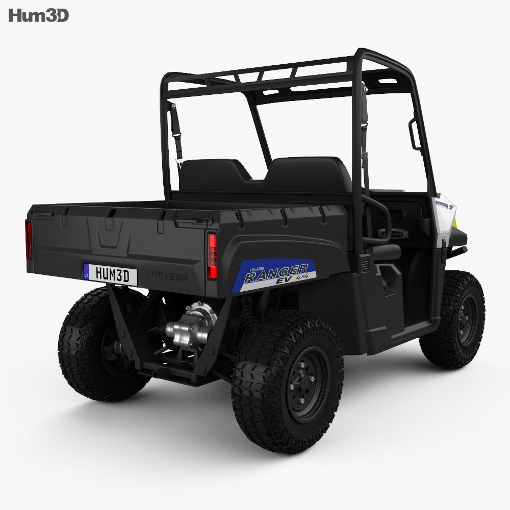polaris ranger ev 2015 3d model humster3d. Black Bedroom Furniture Sets. Home Design Ideas