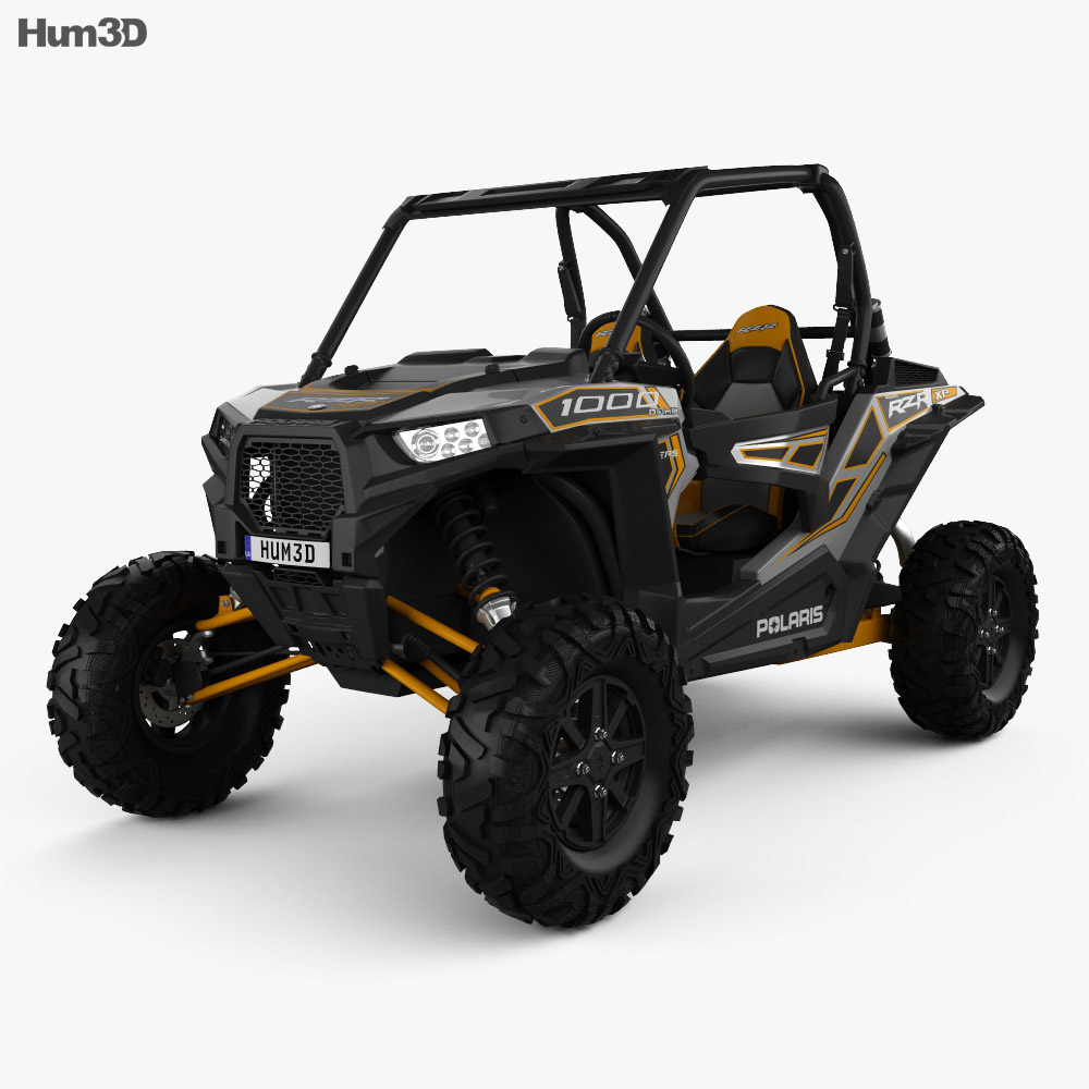 Polaris Ranger RZR 1000 2015 3d model