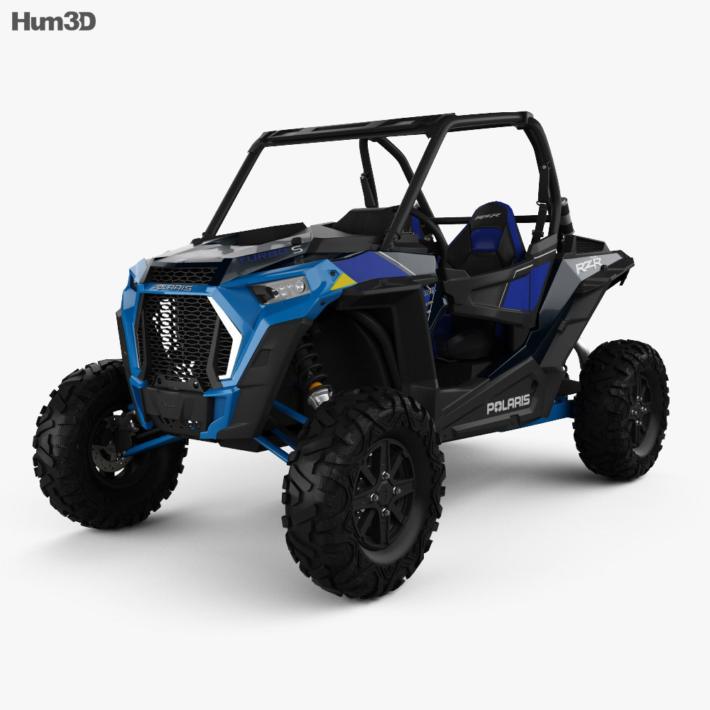 Polaris Ranger RZR 1000 Turbo S 2019 3d model