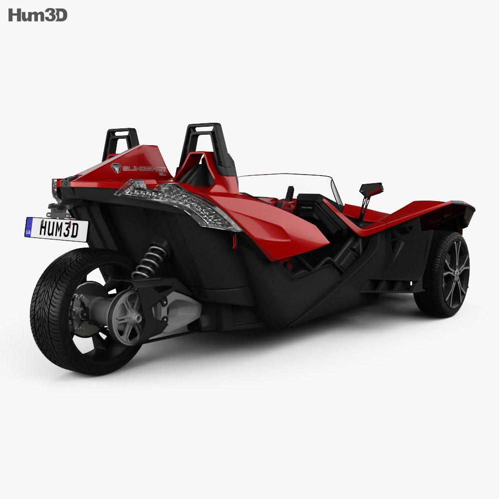 Polaris Slingshot 2015 3d model