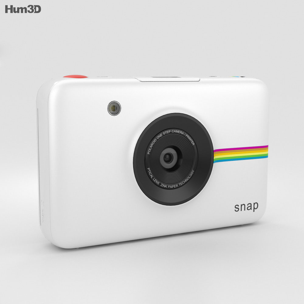 Polaroid Snap Instant Digital Camera White 3d model