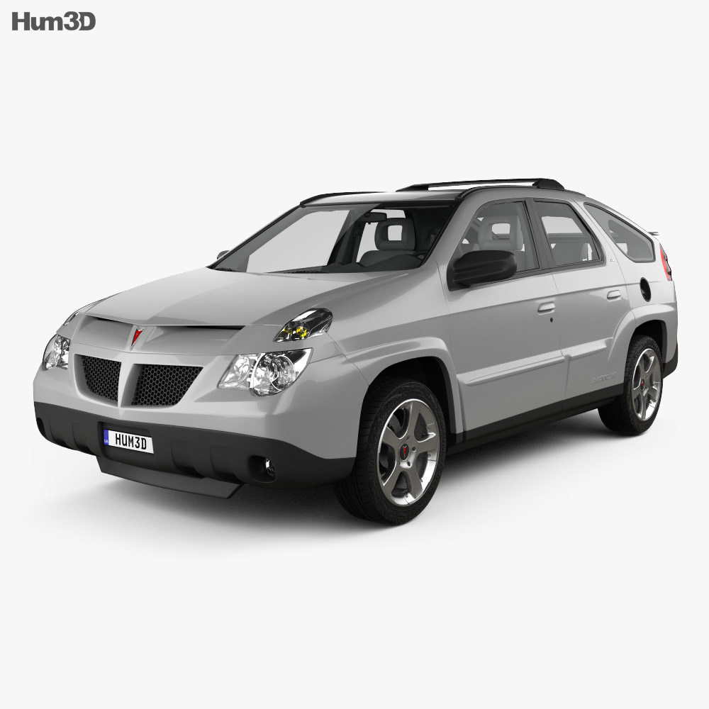 Pontiac Aztek with HQ interior 2005 3d model