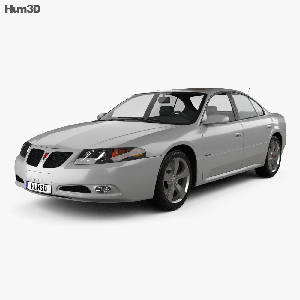 Pontiac Bonneville GXP 2004 3d model
